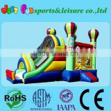 inflatable balloon slide and bouncer combo