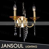 2015 antique chinese indoor decorative hanging bulb candle holder wall sconce light chandelier