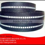 Reflective webbing for bag, garment, helmet, polyester nylon dog leash material