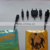 mobile phone emergency charger ,lithium button cell charger,