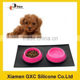 OEM silicone pet food mat for dog