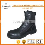 high ankle black lace up fighting military style China made safety army boots