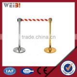 Crowd Control Rope Stanchion Retractable Belt