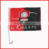 30*45cm red black advertising car flag factory directly