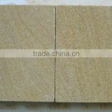 Gold vein outdoor tiles and blocks sandstone pavers
