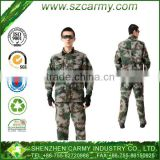 Outside military clothing For all seasons special troops Rip-stop work wear with many bags camouflage army dress uniform