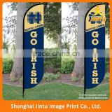 2016 Advertising flag Banners/display beach banner flag/advertisement flying banner Language Option French