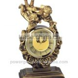 Angel desk clock small kids decoration bedside clock Mirror table clock