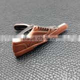 Fashional shoe shape tie clip with antique copper plating