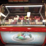 Green&Health commercial portable gelato display case