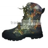 2014 new high quality leather camo army shoes men military boots                                                                         Quality Choice