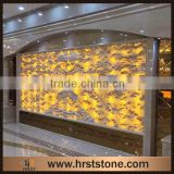 Hot selling red dragon onyx translucent marble slab                                                                         Quality Choice