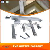 Wholesale price Guangzhou Wanael factory 5.2K, 7K PVC square Guttering Pipe prices per meter,Guttering for Greenhouses