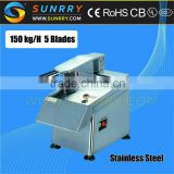 Fruit vegetable cutter 150Kg/h fruit and vegetable cutter with 5 blades vegetable fruit cutter for CE (SY-MFC30 SUNRRY)                                                                         Quality Choice