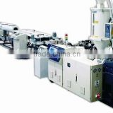 HDPE heavy-caliber tube production line/ hollow twins tube machinery