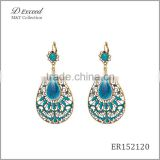 Wholesale Jewelry Yiwu Factory Fancy Big Beautiful Seed Bead Piercing Dangle Earrings Bohemian Ethnic