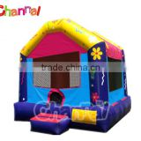 Good price flower theme inflatable small bouncer