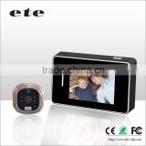 ete Intelligent Wireless WiFi ip Video Door Bell Camera Full Duplex Audio Easy Use Home