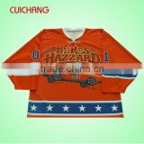 Ice hockey shirts sale&custom lace neck ice hockey shirts&ice hockey shirt cc-80