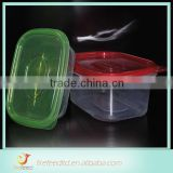 2015 New Style plastic food tray with 3 compartments