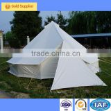Dia5m Double Layer Bell Tent Circus Tents Cotton Canvas Camping Tent 6 Person Bell Tent For Music Festivals