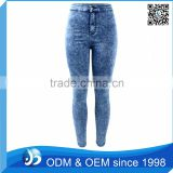 OEM Women Acid Wash Skinny Jeans Manufacturers Turkey