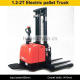 1.2-2t electric warehouse series CDD16 electric pallet stacker with D920 configuration no.