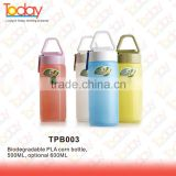ECOZONE Professional biodegradable items manufacturer best selling wholesale price bpa free biodegradable plastic bottle