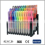 best selling high quality China Free sample promotional gel pen 48
