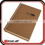 High Quality Cotton Cloth Cover Notebook for Gift