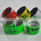 OEM Factory - Custom clap wristband / pvc snap bracelet / pvc clapping wristband