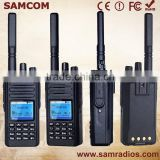 SAMCOM digital two way am fm radio DP-20 with FCC,IP 67 compatible with moto MOTOTRBO radios