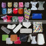 Wholesale Reusable one size pocket cloth diaper nappy insert nappy liner wholesale Eco friendly baby nappy nursing pads