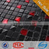 stone glass mosaic wall tile red and black glass mosaic tile black gold marble mosaic tiles for bathrooms