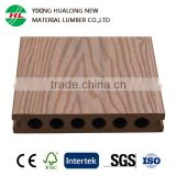 Weather Resisitant Co-extrusion WPC Wood Plastic Composite Decking for Garden Swimming Pool