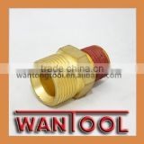 "sale TAIZHOU Pressure Washer 1/4"" Brass male connectors ,connectors push in PIPE fitting"