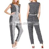 China clothing factory harem pants wholesale playsuit high quality fitness jumpsuit rompers