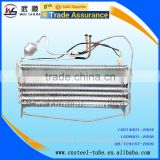 Expanding Type Finned Evaporator With Standard of ASTM A254 refrigerator condenser evaporator