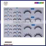 New designs private label 100%real mink fur 3D mink eyelashes wholesale