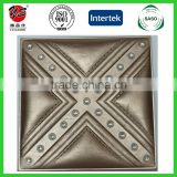 2016 Morocco interior decorative 3d wall panels 3D leather wall panel faux leather panels