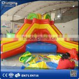 Professional kids jumping inflatable bouncer,inflatable bouncer house material,infatable bouncer with slide