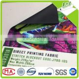 Environmental polyester digital printing blackout carpet fabric for Dgen grande teleios printer