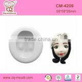 Baby girl face Silicon fondant molds