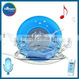 BTS-06 Waterproof Speaker Subwoofer Bluetooth Speaker Stereo Shower Wireless Mini with Sucker Music Audio Receiver Phone Call