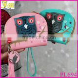 Cute Cartoon Mini Wallets New Fashion Korean Owl Short Women Wallet Small Change Purse Ladies Creative Clutch Card & ID Holders