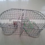 Popular fishing wire mesh crayfish trout trap