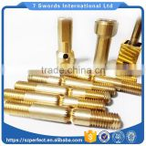 Factory direct sale CNC car milling compound processing parts refined copper pipe precision processing hardware