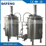 Industrial beer factory beer brewing equipment, SUS beer fermenter for sale