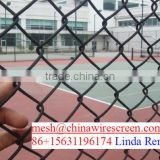 chainlink fence for school/for sport/ football field fence manufacturer
