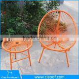 Outdoor Furniture Leisure Egg Shaped Wicker Chairs